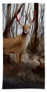 Wounded Wanderer Hand Towel