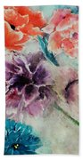 Wrap It Up In Spring By Lisa Kaiser Bath Towel