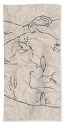 Wrinkled Masterpiece  Bath Towel