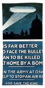 Wwi: Poster, 1915 Bath Towel