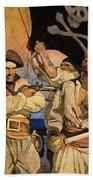 Wyeth: Treasure Island Hand Towel