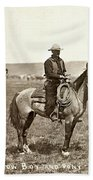 Wyoming: Cowboy, C1883 Bath Towel