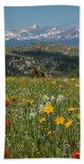 Wyoming's Winds Bath Towel