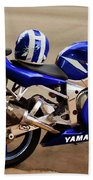 Yamaha Yzf-r6 Motorcycle Bath Towel