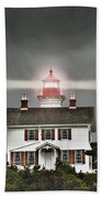 Yaquina Bay Lighthouse Bath Towel