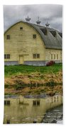 Yellow Barn Bath Towel
