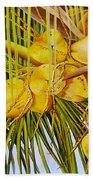 Yellow Coconuts- 01 Bath Towel