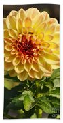 Yellow Flora Bath Towel