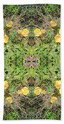 Yellow Flower Photo 1492 Composite Hand Towel