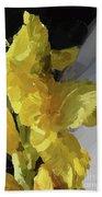 Yellow Glad 092217 1a Bath Towel