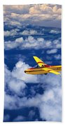 Yellow Glider Bath Towel