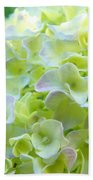 Yellow Hydrangea Flowers Art Prints Baslee Troutman Bath Towel