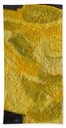 Yellow Lilac On The Pond Hand Towel