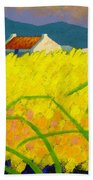 yellow Meadow Ireland Bath Towel