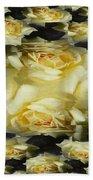 Yellow Roses 2 Bath Towel