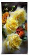 Yellow Roses Bath Sheet