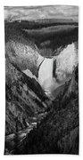 Yellowstone Falls II Bath Towel