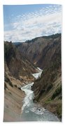 Yellowstone Grand Canyon Bath Towel