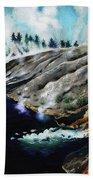 Yellowstone Hot Springs Bath Towel