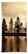 Yellowstone Lake Bath Towel