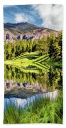 Yellowstone National Park Trout Lake Bath Towel by Christopher Arndt