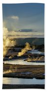 Yellowstone's Midway Geyser Basin  Bath Towel