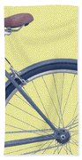 Yelow Bike Bath Towel