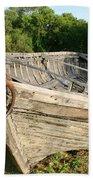 York Boat - Fort Garry Bath Towel