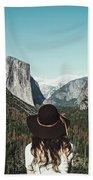 Yosemite Awe Hand Towel