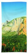 Yosemite National Park Bath Towel