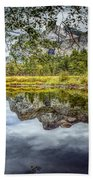 Yosemite Reflections Right Bath Towel