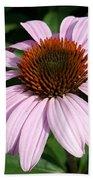Young Echinacea Bloom Bath Towel