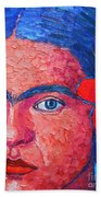 Young Frida Kahlo Hand Towel