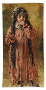 Young Gypsy By Konstantin Makovsky Hand Towel