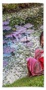 Young Khmer Girl - Cambodia Bath Towel