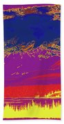 Yukon Mountain Range 7 Bath Towel