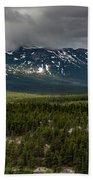 Yukon Wilderness Bath Towel by Ed Clark