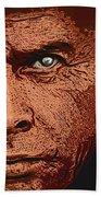 Yul Brynner Bath Towel by Antonio Romero