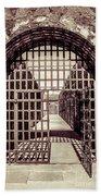 Yuma Territorial Prison Gate Bath Towel
