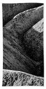 Zabriskie Point Badlands - Death Valley Bath Towel