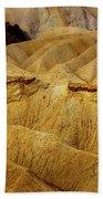 Zabriskie Point, Death Valley Bath Towel