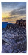 Zabriskie Point Sunset Bath Towel