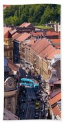 Zagreb Afternoon Hand Towel