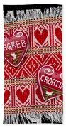 Zagreb Love Hand Towel