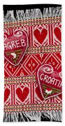 Zagreb Love Bath Towel