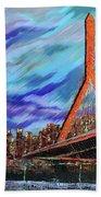 Zakim Bridge - Boston Bath Towel