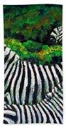 Zebra Family Bath Towel