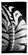 Zebra Hand Towel