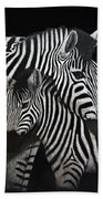 Zebras Bath Towel