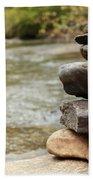 Zen At The Water Bath Towel